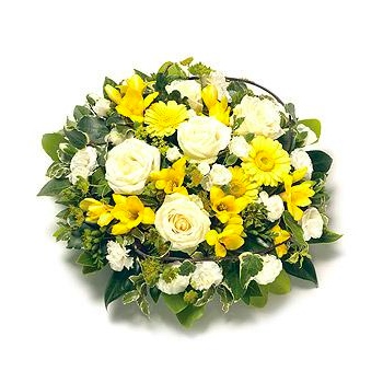 large yellow posy