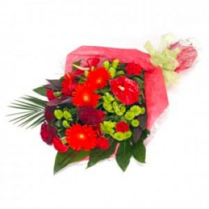 red splendour bouquet